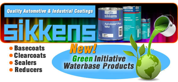 Sikkens - Quality Green Friendly Automotive Paint